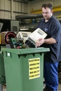 Recycle RID bin