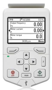ACQ580 Keypad
