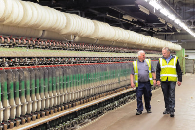 UK Carpet Manufacturer Converts DC to AC and Avoids Costly Plant Overhaul