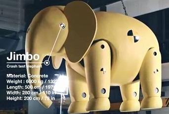 Jimbo the ABB Elephant